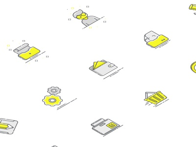Icons Chestny Znak clean datamatrix code design ui dashboard illustraion icon