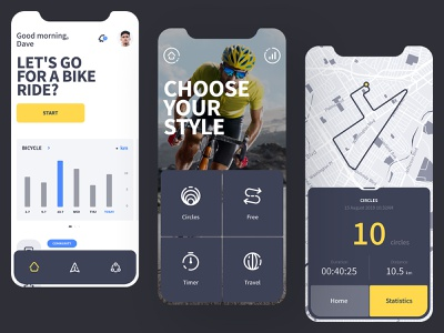 Mooove | Sport tracker and sport community app community fitness clean interface ux ui mobile app tracker swim walk run bicycle bike sport