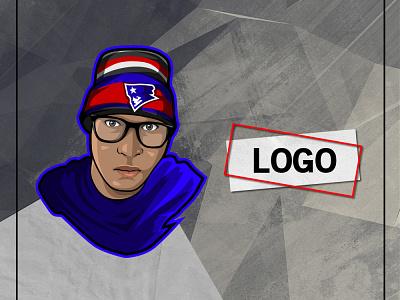 LOGO DESIGN vector branding ui logo illustration mascot youtube channel design youtuber streamer