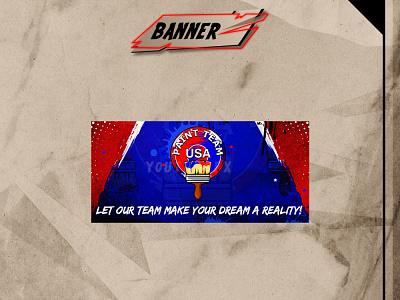 CUSTOM BANNER youtuber logo illustration youtube channel design