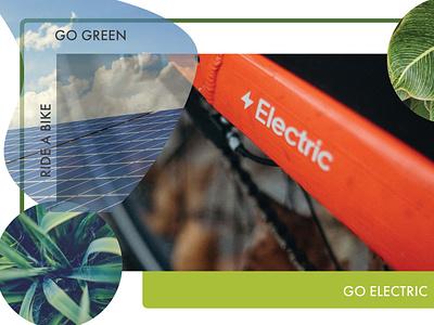 E GO print poster illustration design