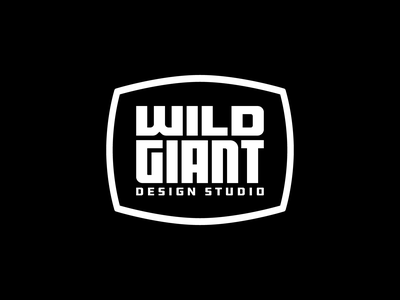 Wild Giant Studio Badge lettering crest seal stamp industrial type logotype lockup badge logo badge logo design logo letters clean branding
