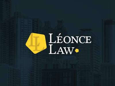 Leonce Law logo  logo