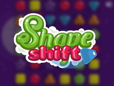 Logo for Shape Shift (Match 3) Game logo