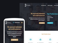 Keegan Firm website redesign