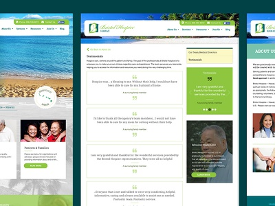 Hospice Care Pages
