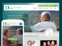 Hospice Care Desktop and Mobile view