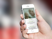 Mobile Shot Of Website Re-Design for Home Accessibility Company