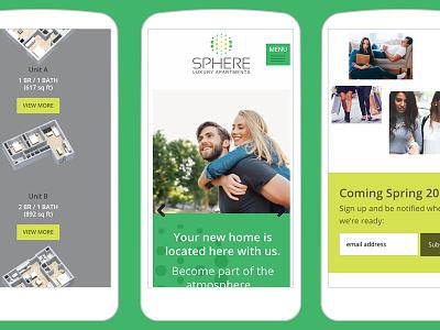 Fully-Responsive Website For New Apartment Development
