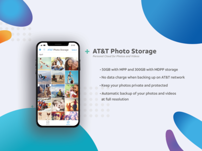 Handout to promote AT&T Photo storage