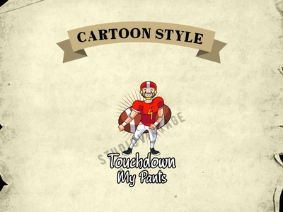 CARTOON LOGO ux branding ui logo design logo designer rugby baseball game custom logo cartoon mascot cartoon logo cartoon vintage logo retro illustration logo design vintage vector