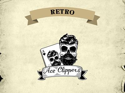 RETRO LOGO ux branding ui vintage logo retro illustration logo design vintage vector