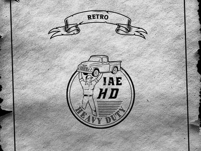 CUSTOME RETRO LOGO affordable price customize logo retro ux branding ui vintage logo retro illustration logo design vintage vector