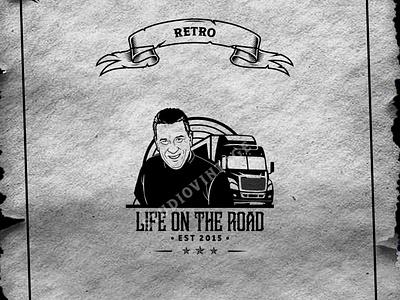 "CUSTOME LOGO ""RETRO STYLE"" affordable art logo profile logo company ux branding ui vintage logo retro illustration logo design vintage vector"