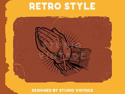 CUTOME LOGO RETRO custome logo custome retro logo logo branding vintage logo retro illustration design vintage vector