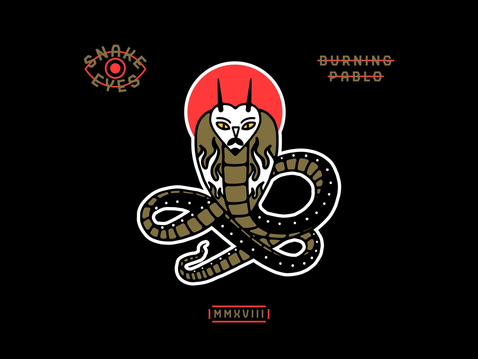 Snake Eyes By Burning Pablo Dribbble