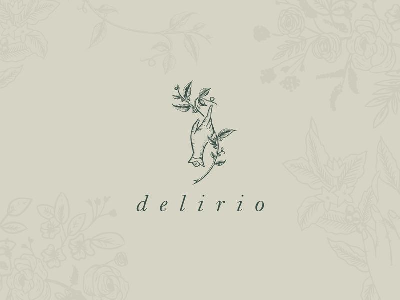Delirio craft hands branding brand shop coffee