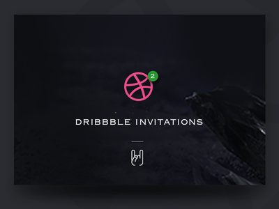 Invites invitation dribbble