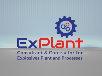 ExPlant Logo contractor realeste graphic design illustration design branding design logo design logodesign logo identity branding brand identity