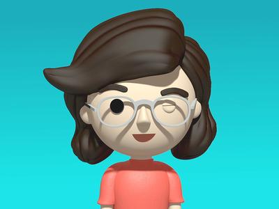 3D Chloe Character