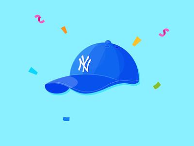 Hat branding illustration design
