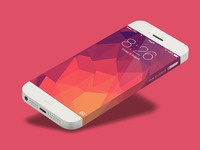 Iphone 6 infinity template