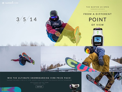 Burton US Open Snowboarding Page