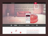 Revolv Home Page Concept
