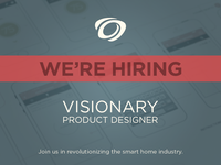 Revolv is hiring a product designer.