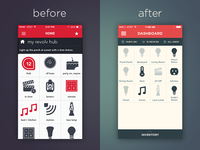 Revolv 2.0 - Before and After