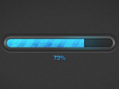 Progress bar dribbble