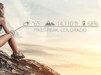 Hiking Data Overlay