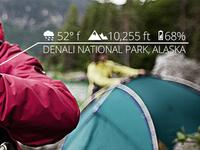 Hiking Hero Area Data Overlay