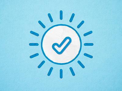 Check awto grain blue motion paper design check