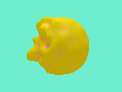 Blobby Lemon Mint Loop