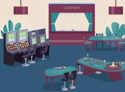 Video Poker minimal ui illustration gambling casino ga