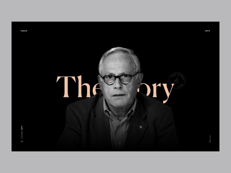 Dieter Rams Stories dieter rams flat design website black typography minimal web ux ui