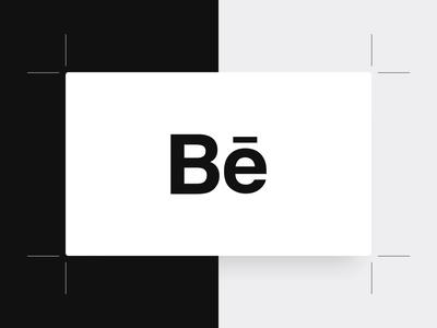 Behance Presentation Grid — Sketch portfolio case study web grid black minimal sketch freebie behance template