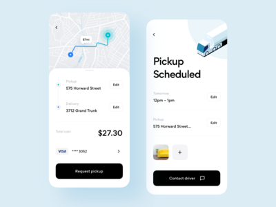 Shipping Marketplace App Design