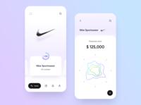 Investment App Design ux ui interface gradient graphic mobile ios cash money invest design app