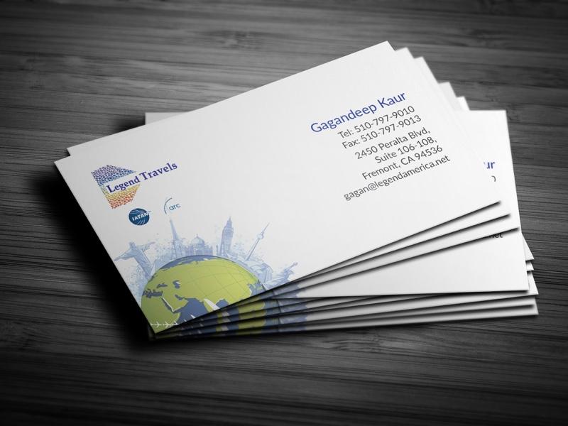 Legend Travels Business Cards by Tajinder Pal Singh - Dribbble