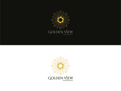Golden View Photography Logo