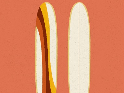 Board Design Series surfboarddesign glasswork psychedelic design retro illustration surfboard