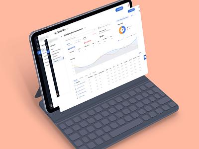Marketing Analytics Platform app design productdesign webdesign ux ui