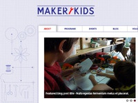 Maker Kids Homepage