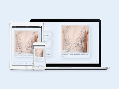 Edelweiß (Day Mode) tumblr theme tumblr dailyui uiux webdesign
