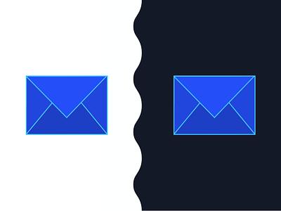 Mail App Logo Concept procreate daily ui logo design concept app logo mail app logo design branding design logo