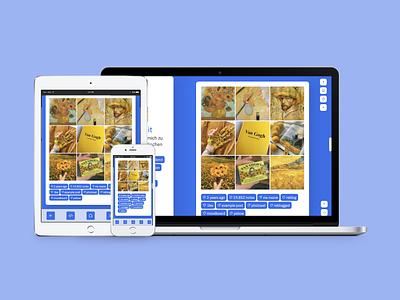 Freiheit (Theme 33) responsive design responsive accessible tumblr theme design daily ui tumblr uiux dailyui webdesign