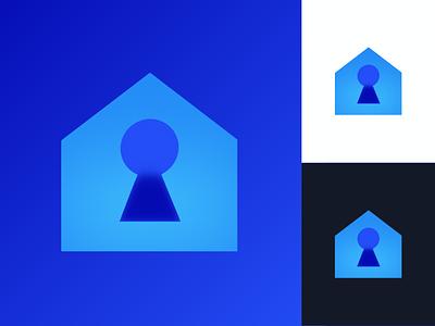 Logo Concept: Secure Home smart home smarthome brand logo branding brand app logo logos logodesign logo design logo
