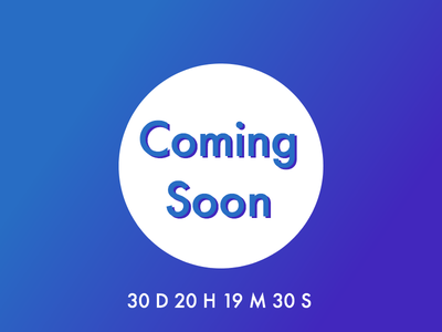 Daily UI #48 – Coming Soon